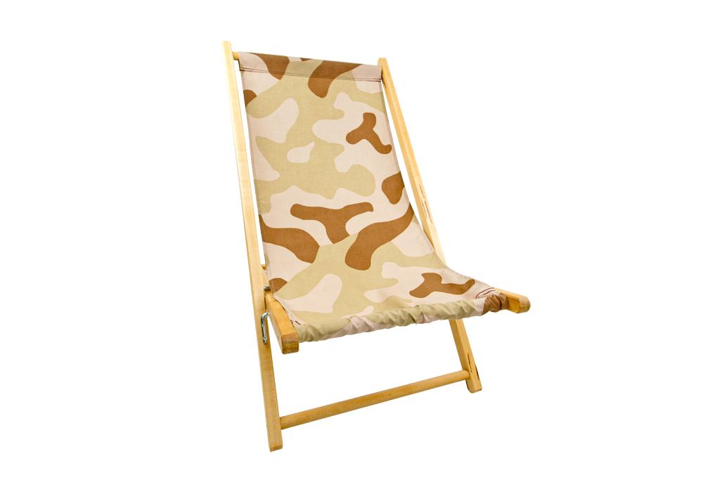 leżaki plażowe drewniane