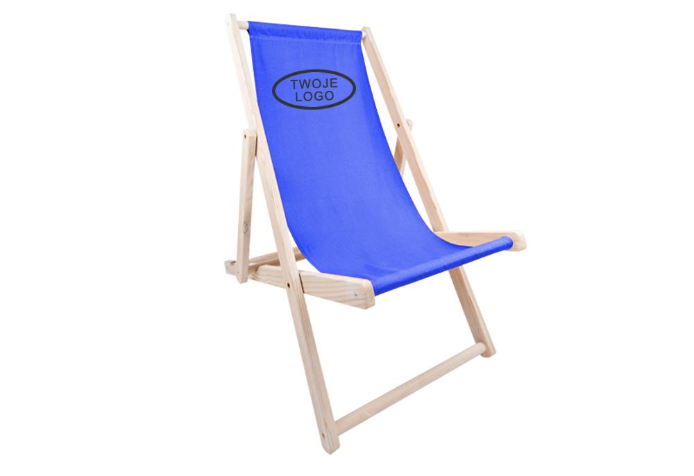 reklamowe leżaki plażowe z nadrukiem